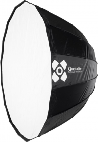 Quadralite Parabolic Octa 150 Softbox 16 shaft