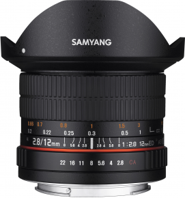 Samyang obj. 12mm f/2.8 ED AS NCS fish-eye (Nikon F(FX))